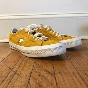 6a2eba3e688 Converse Shoes - Men s Converse One Star Hairy Suede-Yellow